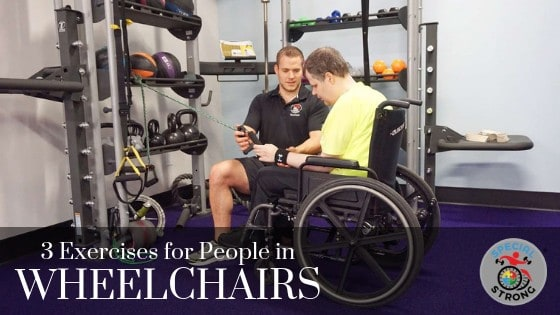 wheelchair exercises special needs
