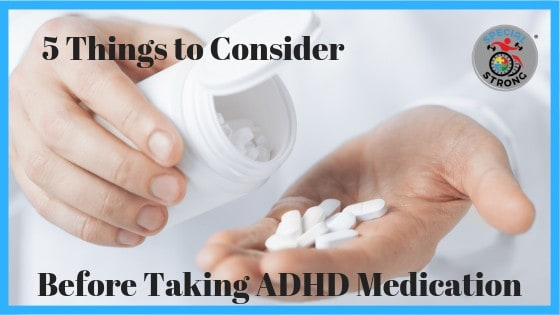 What to consider before taking ADHD medication