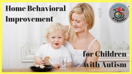 Home Behavioral Improvement for Children with Autism