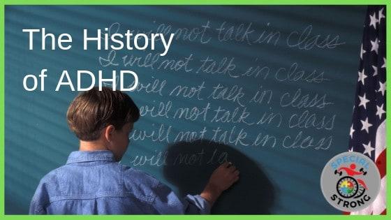 History of ADHD