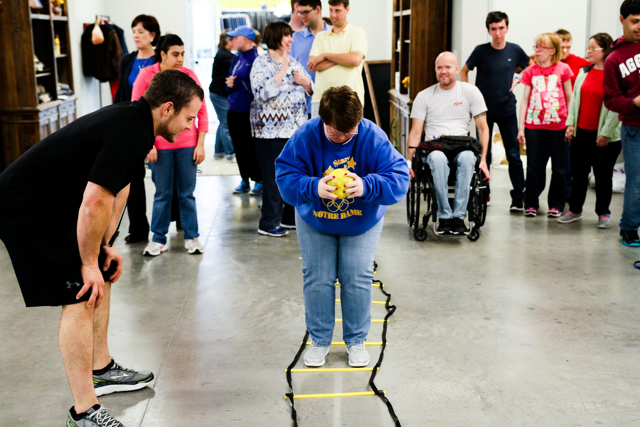 cornerstone-ranch-mckinney-ball-ladder-down-syndrome-special-needs-autism-exercise