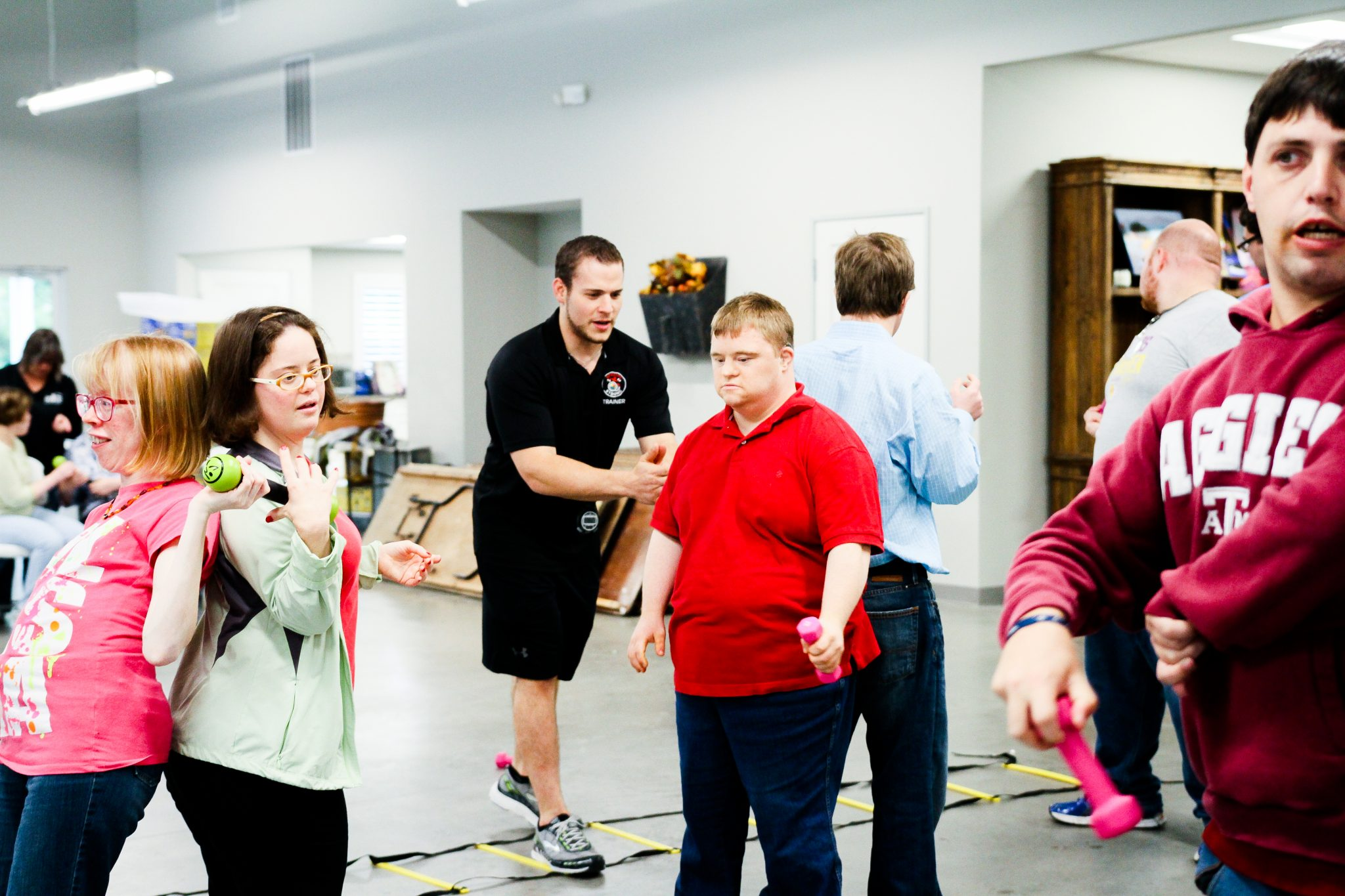 cornerstone-ranch-mckinney-clap-down-syndrome-special-needs-autism-exercise