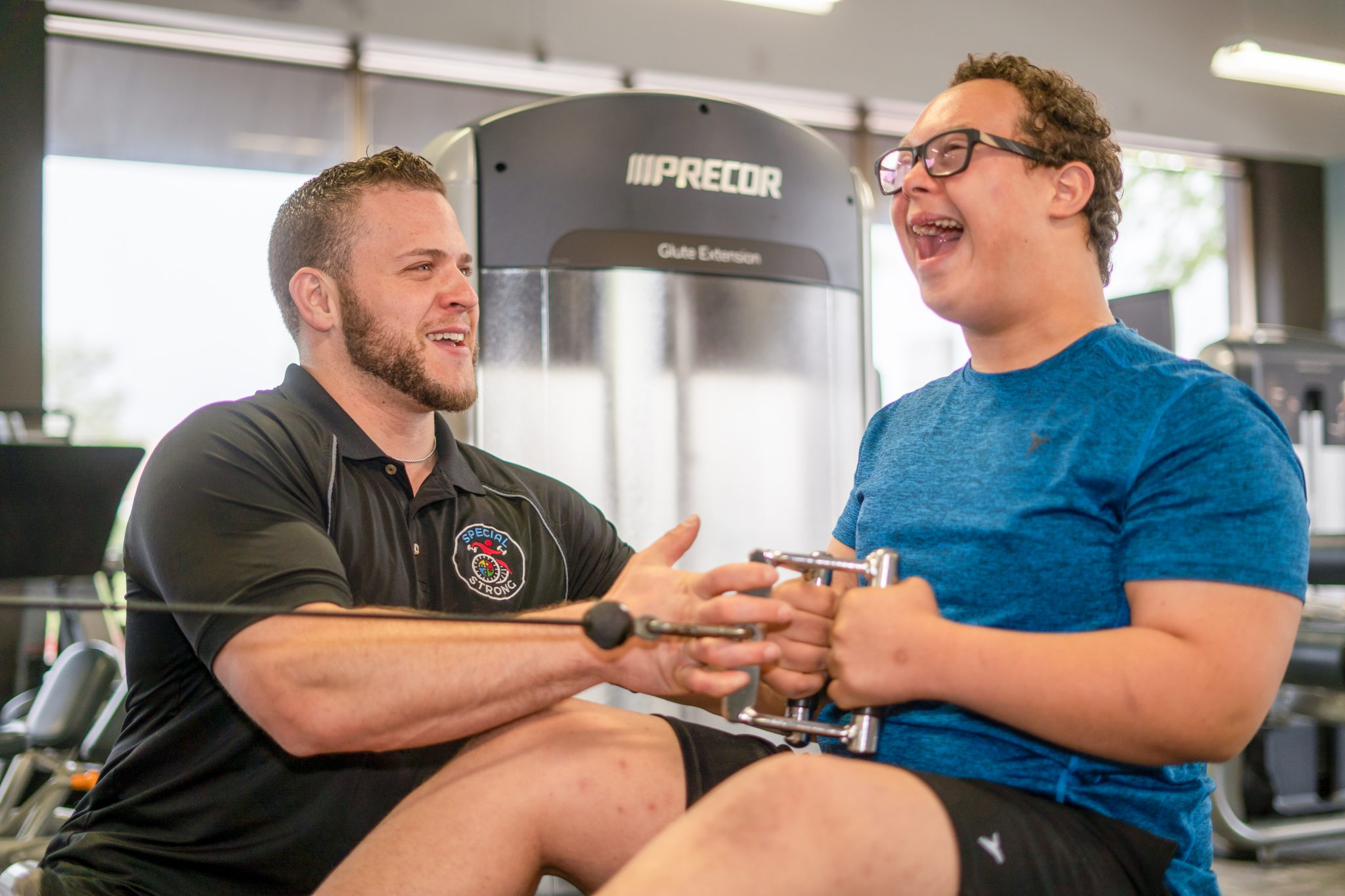 special strong adaptive fitness training jude smile