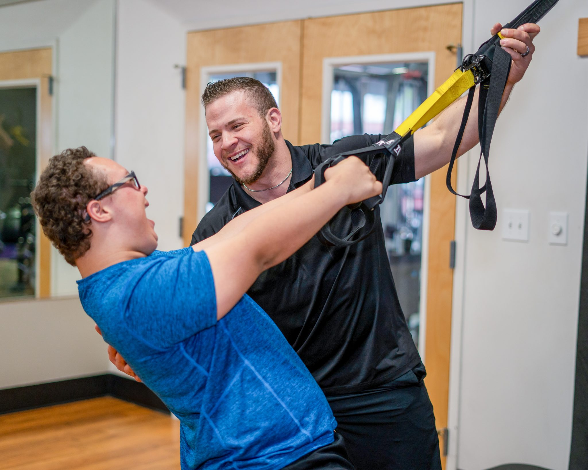 special strong adaptive fitness training trx