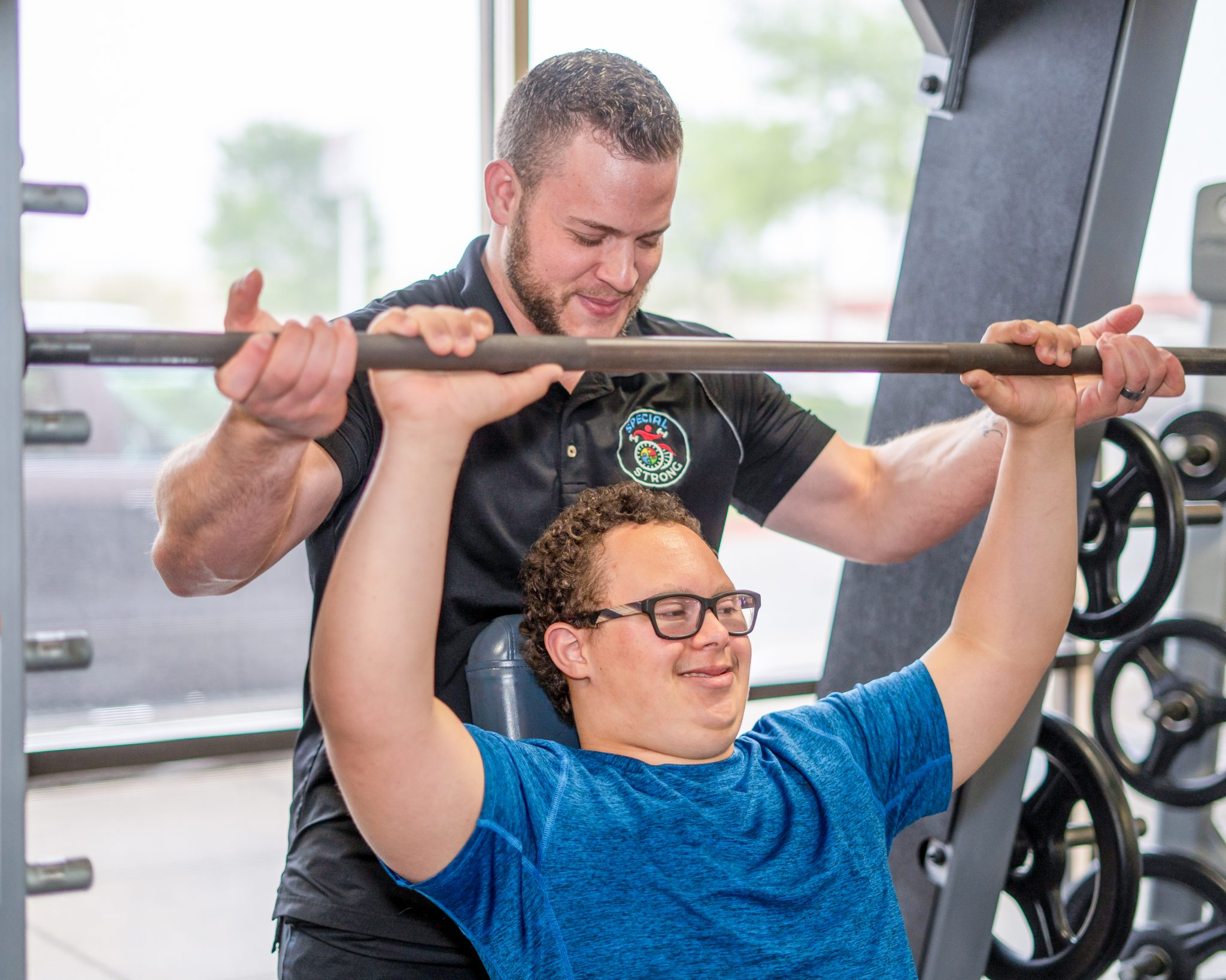 special strong adaptive fitness training barbell