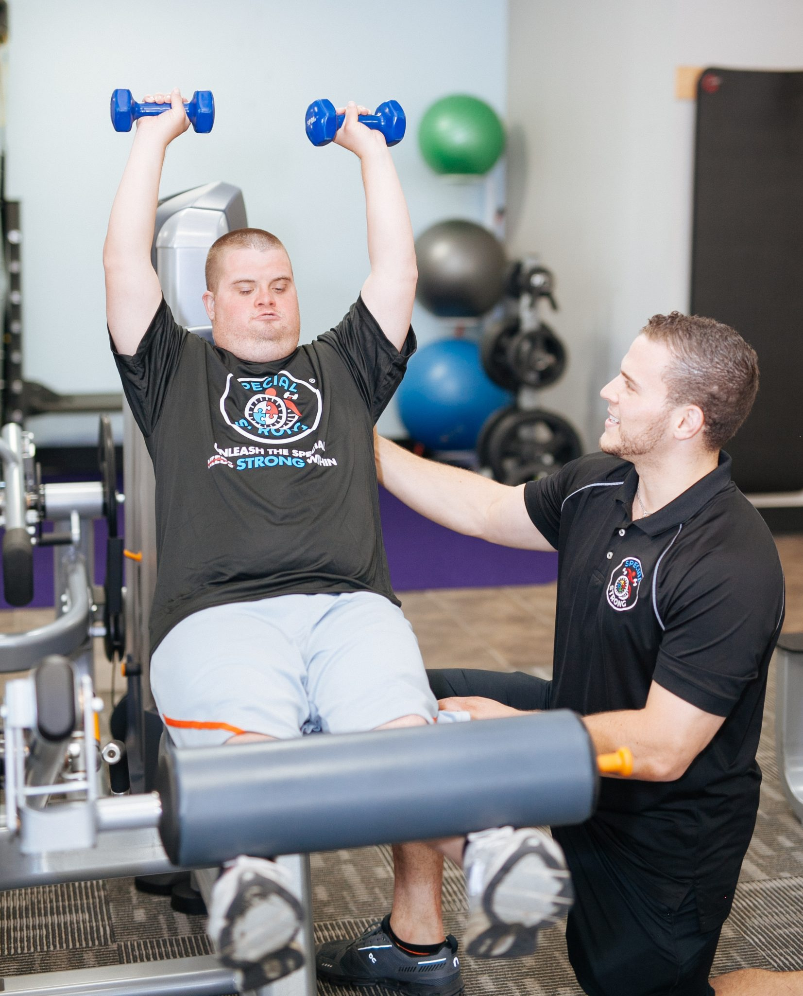 special strong adaptive fitness training downs