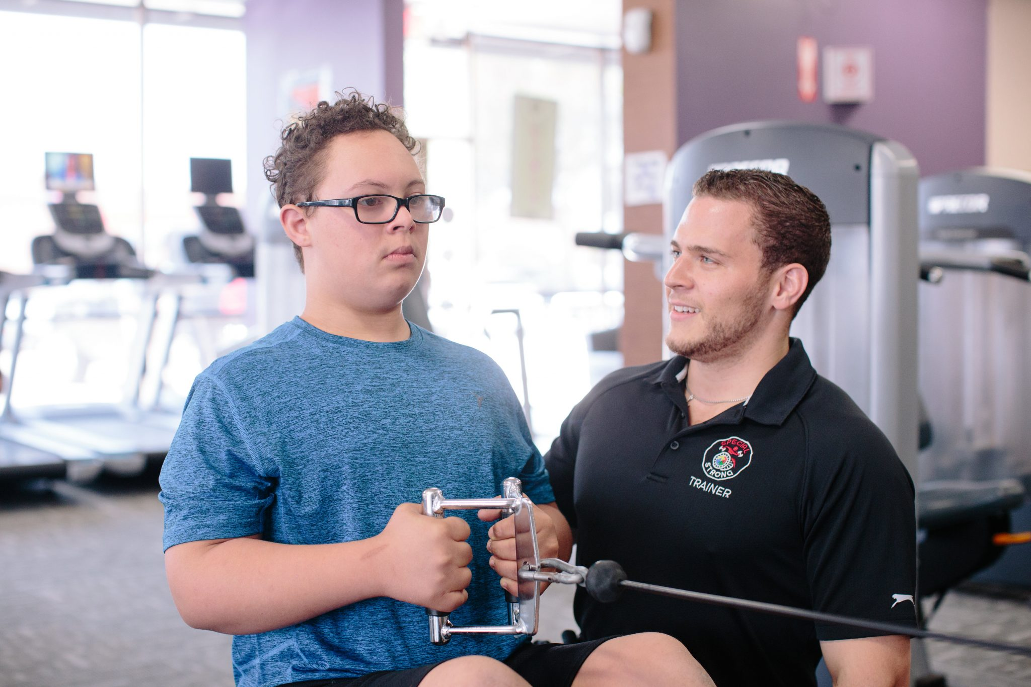 special strong adaptive fitness training jude