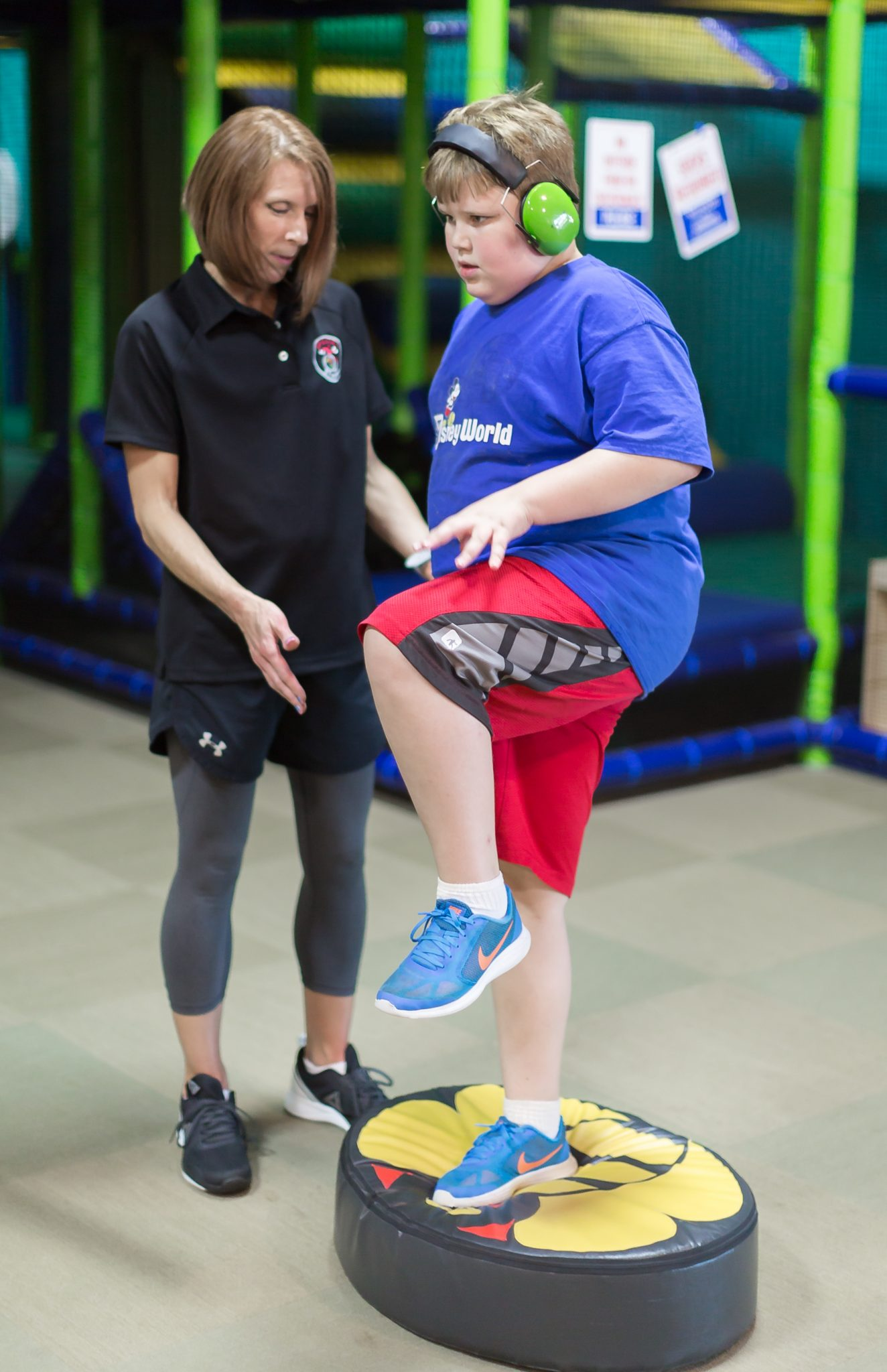 special strong adaptive fitness autism training