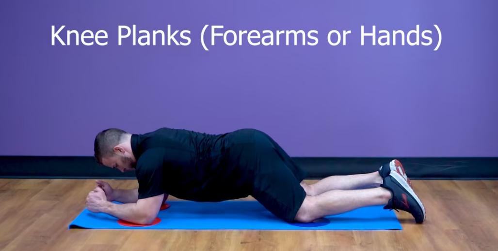 Knee Planks